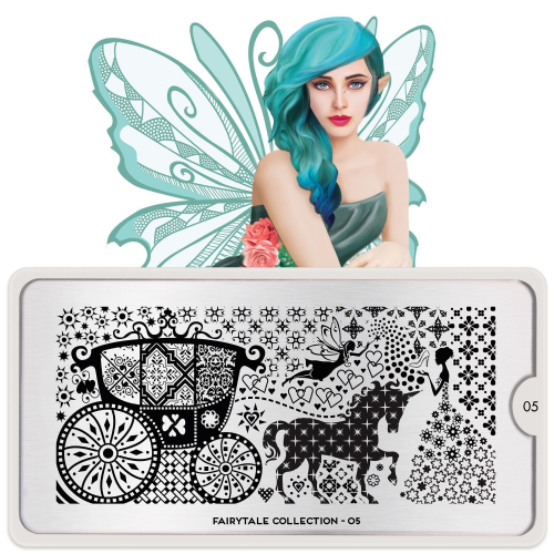 MoYou LONDON STAMPING PLATE - FAIRY TALE 05